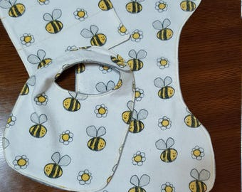 Bumble Bee Bib Set