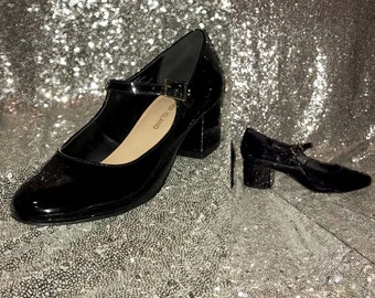 1960s Mary Jane Style Shoes
