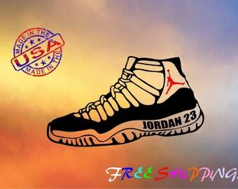 Air Jordan Shoes Decal