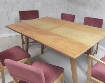 Utility furniture  Table and six chairs