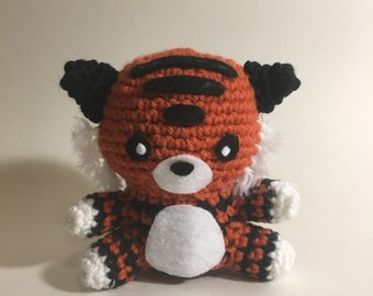 Tiger Crochet Amigurumi Plushie