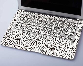 Brain Keyboard Stickers MacBook Air 11 Skin 12 inch Macbook Cover Brain MacBook Pro 15 Decal Pro 13 2016 Sticker White Mac Air SG038