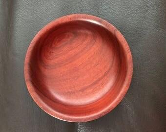 Padauk Wooden Bowl