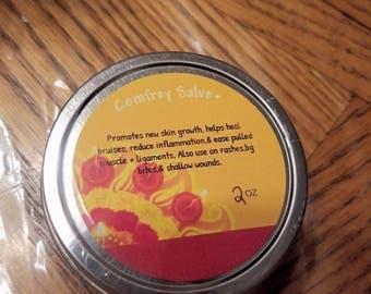 Comfrey + salve   herbal product