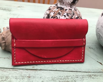 Leather Business/Credit Card Holder