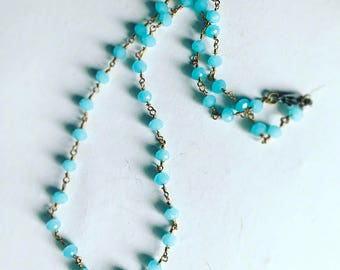 Blue Layering Necklace