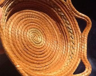 Vintage Handcrafted Basket
