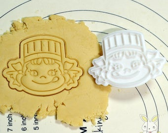 Pecochan Cookie Cutter and Stamp