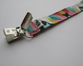 Organic Pacifier Clip, Fits Most Pacifiers, Universal Clip