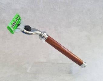 Handmade Bobinga Mach 3 Razor