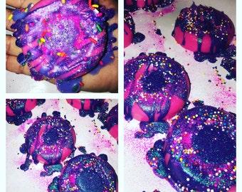 Unicorn Barf Wax Melt Donut- Unicorns- Peppermint rock candy- fruity - sweet- scent your homr