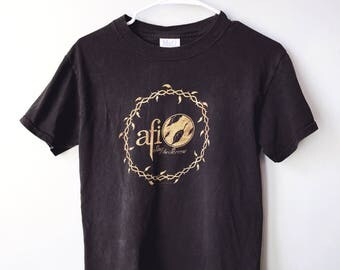 Vintage AFI Sing The Sorror t-shirt