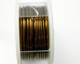 18 Gauge Craft Wire Vintage Bronze Craft Wire Jewelry Wire Hobby Craft Wire