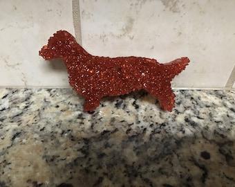 Aroma Bead Car Air Freshener dachshund shape