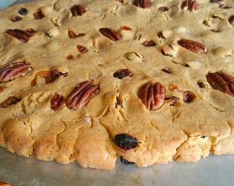 Jewish Bread. Semitic Bread, Gourmet Semita Bread, Pan Semita Bustamante Style. Homemade.