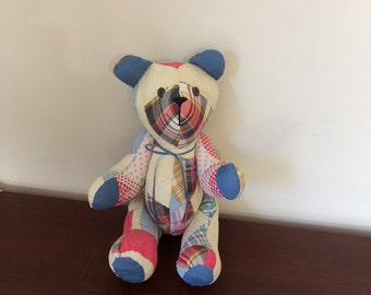 Quilted teddy bear