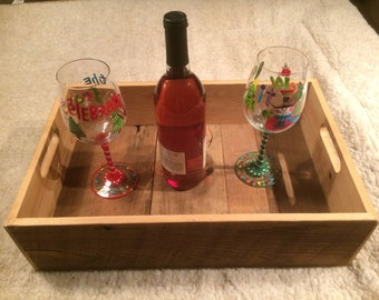 Rustic Barn Wood Serving Tray
