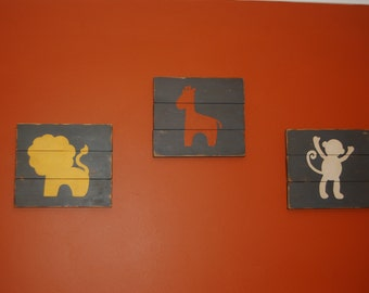 Wooden Kids Signs