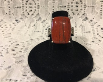Australian Snakeskin Jasper Ring