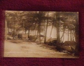 vintage Popular Point N.Y real photo postcard
