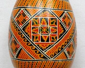 Goose Real Ukrainian hand painted Pysanky Easter Eggs Ukraine Osterei Pysanka Pisanki egg shell