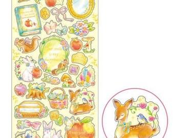 Snow White Pluie Douce Sticker Sheet
