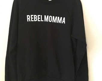 Rebel Momma Fleece Raglan
