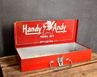 Boîte à outils Handy Andy 1960 / Handy Andy tool set
