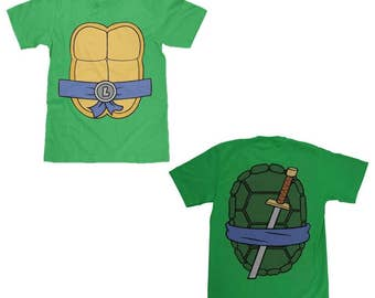 Teenage Mutant Ninja Turtles Leonardo Shell Shirt