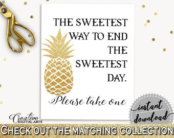 The Sweetest Way To End The Sweets Day Bridal Shower The Sweetest Way To End The Sweets Day Pineapple Bridal Shower The Sweetest Way 86GZU