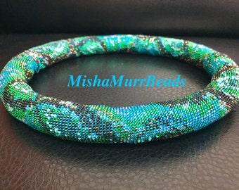 Turquoise Royal Snake.