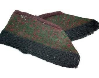 Knit Women Slippers, Fancy Slippers, Vintage Knitted Slippers, Hand Knit Socks, Wool Slippers, Warm Socks, Crochet Slippers, Foot Warmers