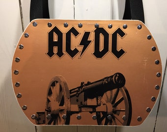 AC/DC - For Those About to Rock We Salute You vinyl record purse