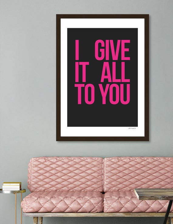 I Give It All To You #2 | Digital Download | Fine Art Print