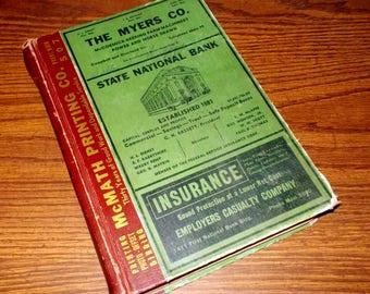 1941 EL PASO TEXAS City Directory Hudspeth's