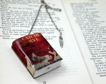 The Catcher in the Rye bookmark handmade miniature book, J. D. Salinger