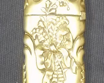 Antique Art Nouveau Match Holder