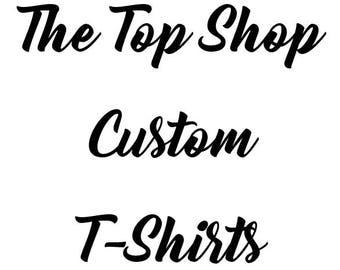 Custom kids T-Shirt, Custom toddler t-shirt, Custom youth t-shirt