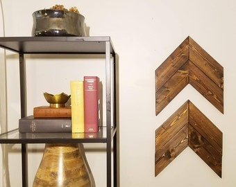 Wooden Chevron Arrows