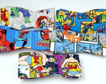 DC and Marvel Comic Bowties