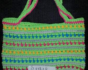 Crochet handbag/tote/tshirt yarn