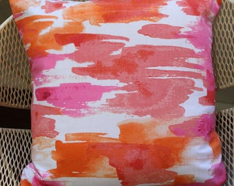 Cushion Cover - 'Coral Abstract'