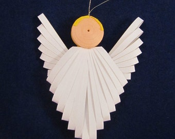 Quilled Angel Ornament