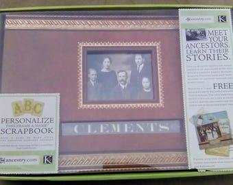 K and Company Ancestory.com Ancestry Scrapbook Album and Set