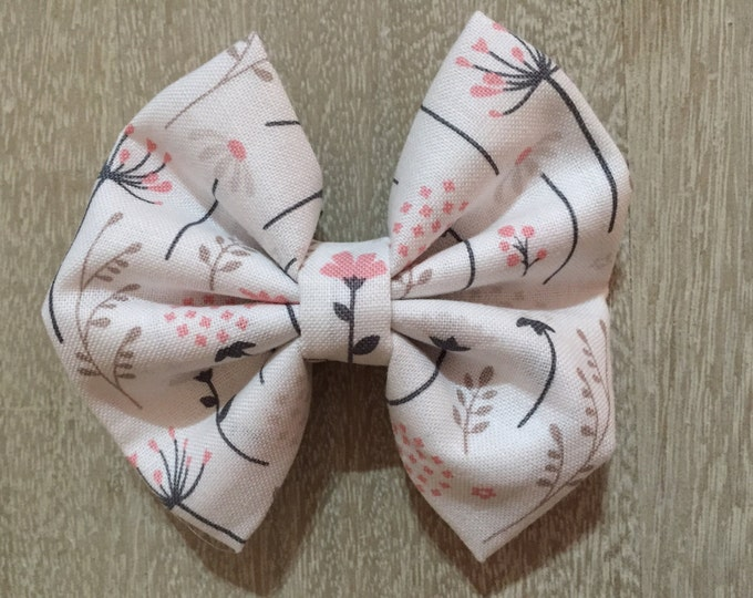 Posy Posy fabric hair bow or bow tie