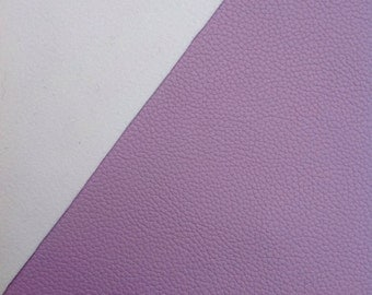Lavender Rose - A4 Faux Leather Sheet