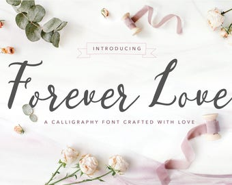 NEW! Forever Love | A Calligraphy Font
