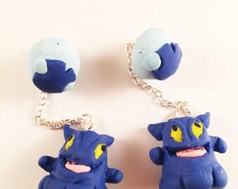 Flan earrings