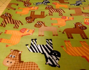 Robert Kauffman Urban Zoology Fabric 1 yard