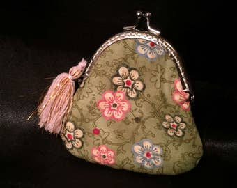 kisslock coin purse, Mothers Day gifts, gifts for her, lip balm purse